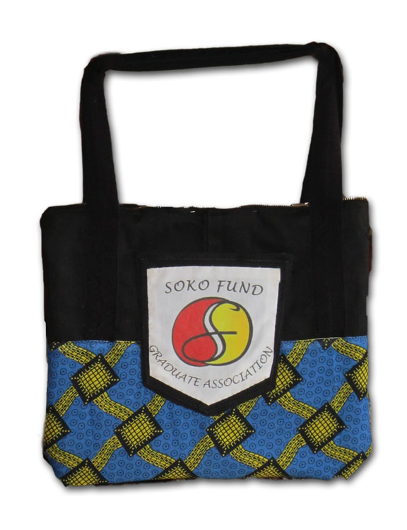 The finished SOKO Fund bag
